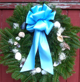 Pam's Sea Shell Wreaths