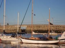 Sailing on Casco Bay Maine