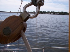Sailing on the Tavake