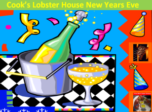 Cook's Lobster House on Bailey Island maine New Years Eve Dinner